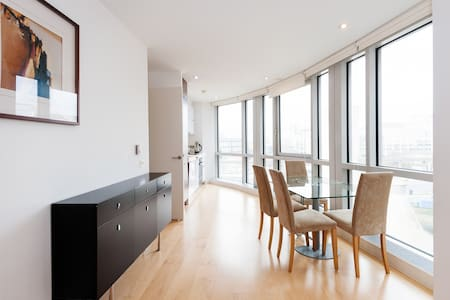 Fully private Canary Wharf flat - London - Apartemen