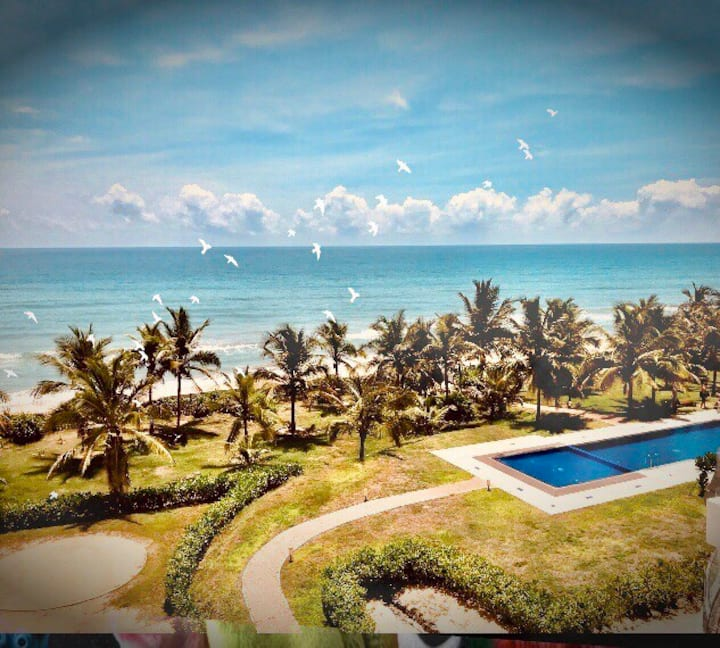 Beach Paradise by Oceanfront Condos Nilaveli