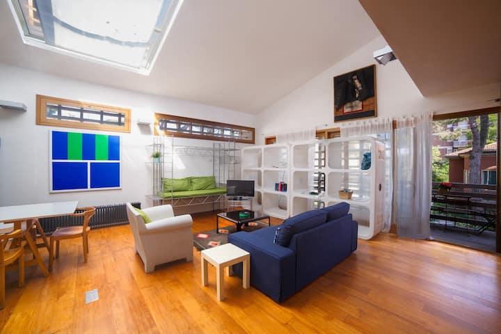 Appartamento in pieno centro a Cervia con balconi