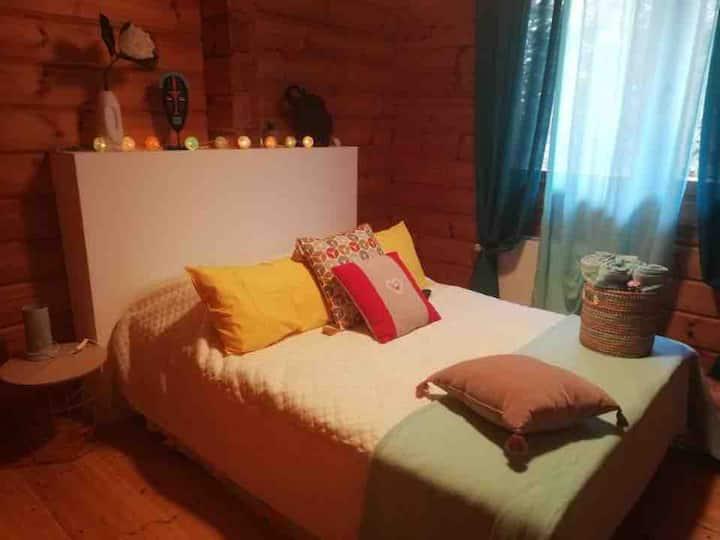Chambre tranquille chalet   Boisson de Bienvenue