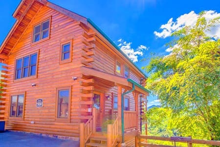 Romantic Cabin with Amazing Panoramic Views! - Sevierville - Kisház