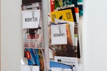 Sorted leaflets will help you find what you are looking for