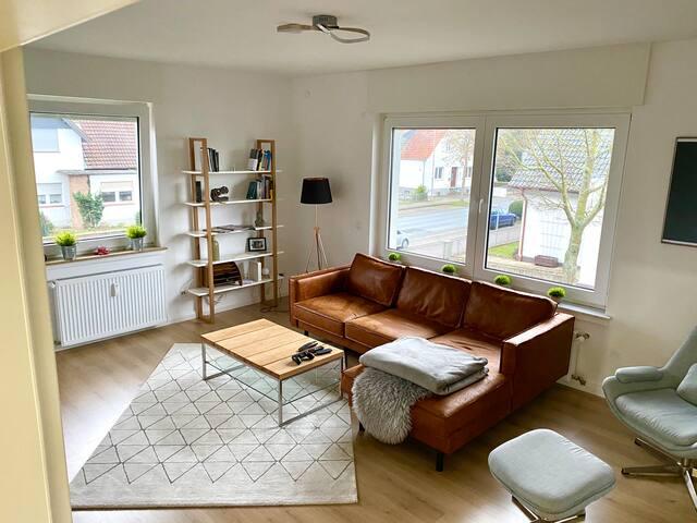 Löhne Zuhause mit Aussicht