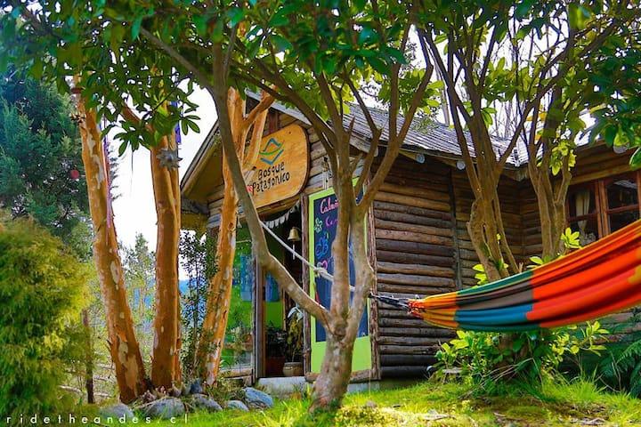 Cabaña familiar en Bosque Patagónico