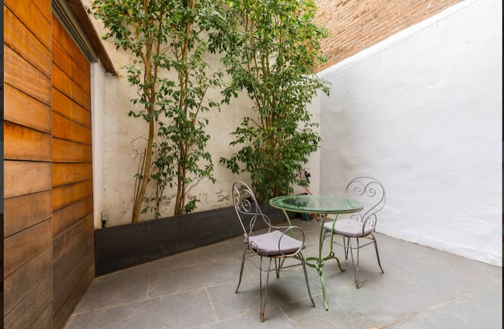 Vista del patio (14m2)
