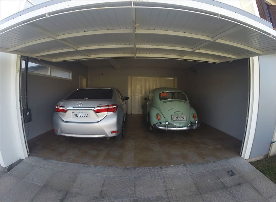 Garagem para 2 carros + 1