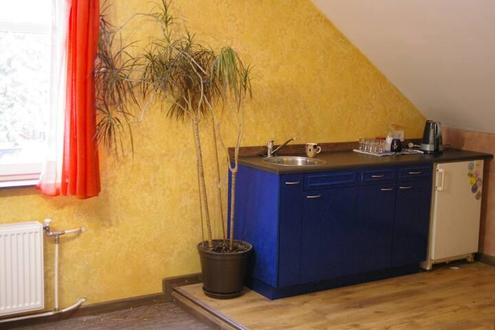 Aпартаменты возле аэропорта Риги, Apartment near airport Riga Guest house Room 1