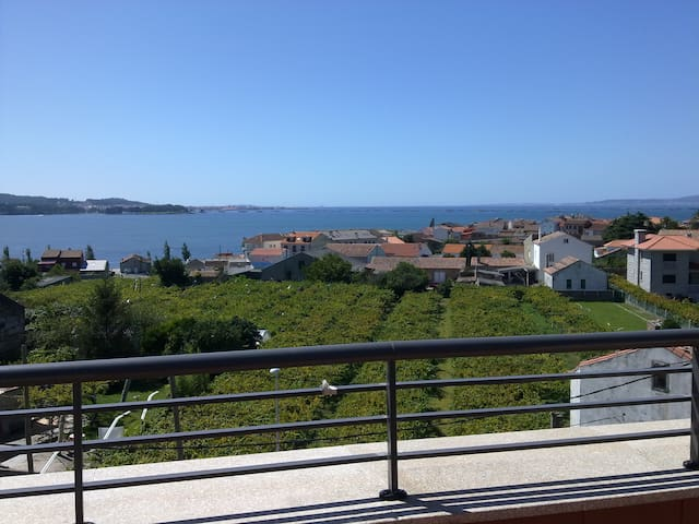 Beautiful apartment with sea views.CAMBADOS - Cambados - Lägenhet