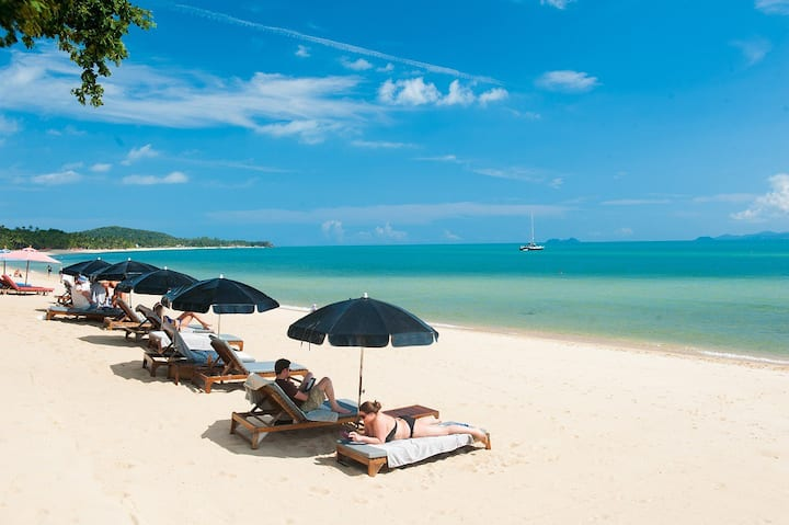 Hammock Samui Beach Resort-Garden View Bungalow 4