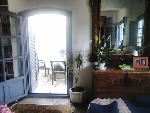 Habitación baño en suite y jardín - San Martín del Tesorillo - Wikt i opierunek