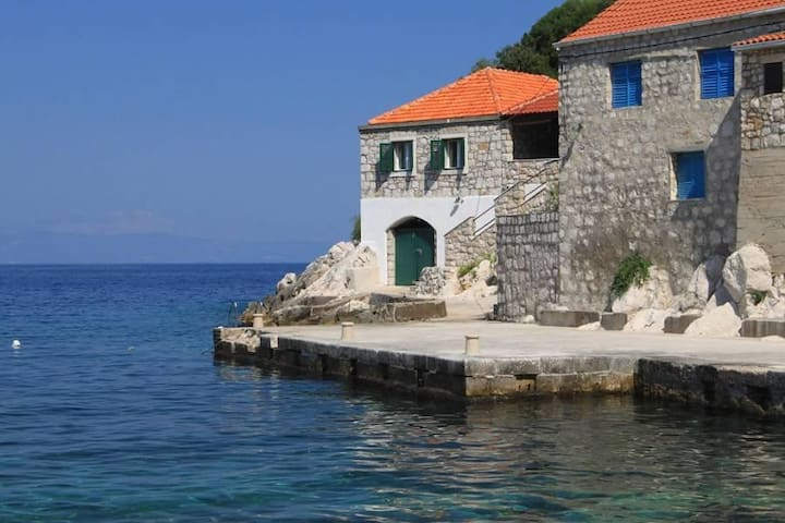 Three bedroom house near beach Lučica, Lastovo (K-8348) - Lastovo - 기타
