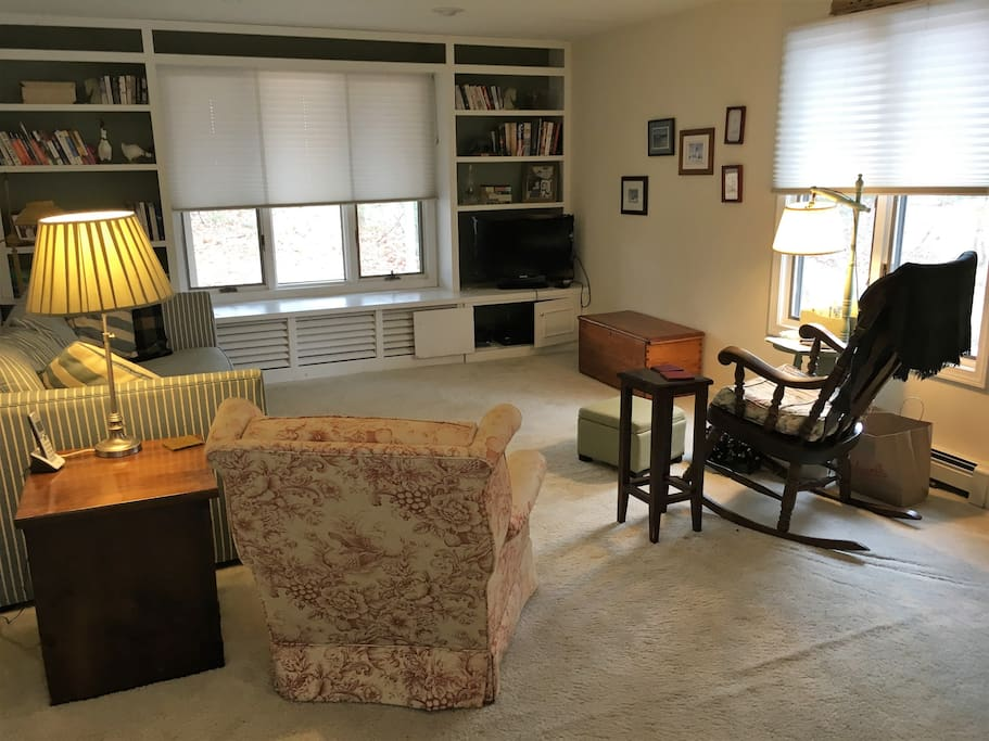 Family Room with Flat Screen TV for your private use.