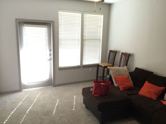 Fully Furnished Apt with pool view - Houston - Flat