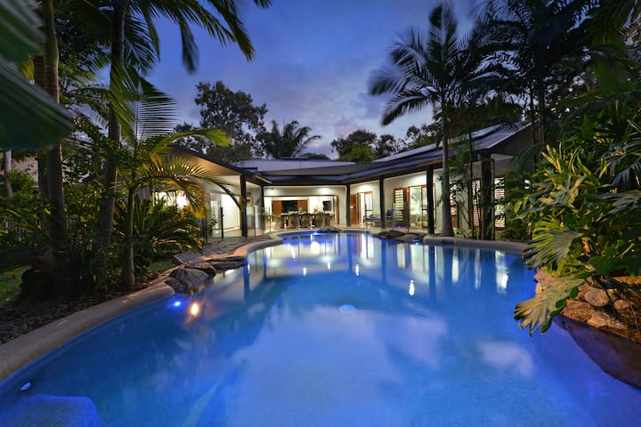 8@Sands-Tropical Stylish house w Heated Pool