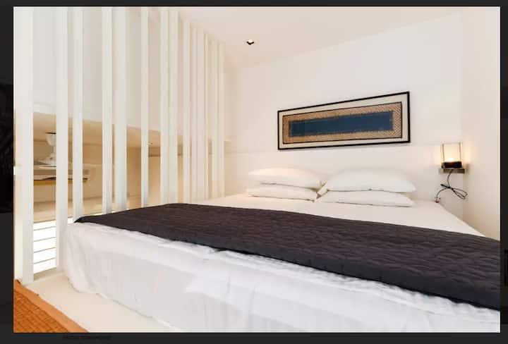 bright+airy compact loft with balcony @ bangsar