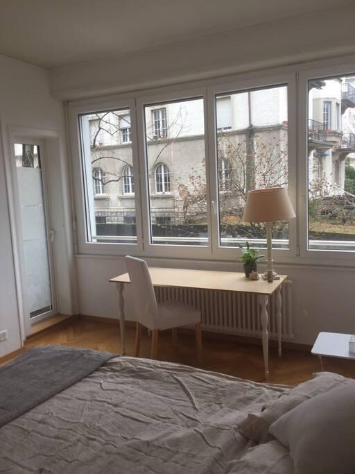 Belle chambre proche du lac appartements louer for Chambre a louer lausanne