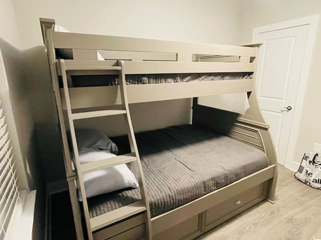 Twin over Full Bunk with twin trundle