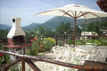 house in the mountains - Rocca di Cambio - 公寓