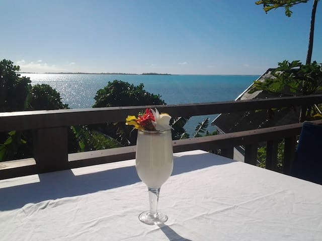Peaceful Bungalow with Sea Views - Aitutaki - Bungalov