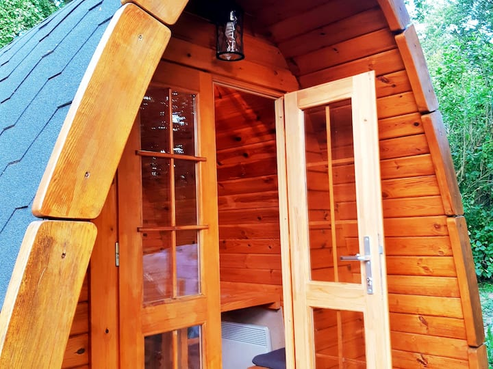 Ferienwohnungen und PODs Alte Schule, (Elchweiler), Dachsbau, 1 Pod, max. 2 Personen