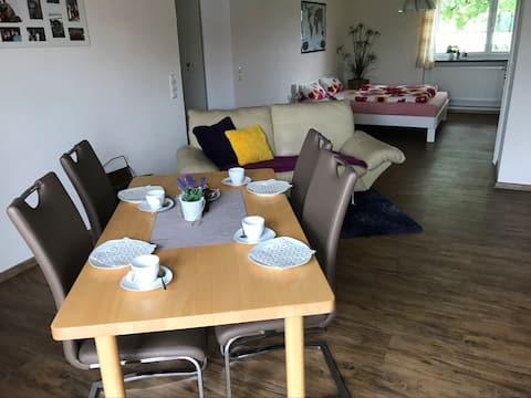 Encantador apartamento en el centro del bosque bávaro