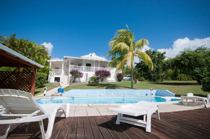 Tropical house near Saint François Guadeloupe