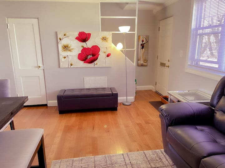 Cozy and Sunny bedroom 5 min to downtown 7 to CCSU