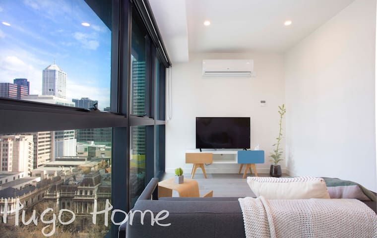 墨城之心/正市中心设计师设计一室公寓