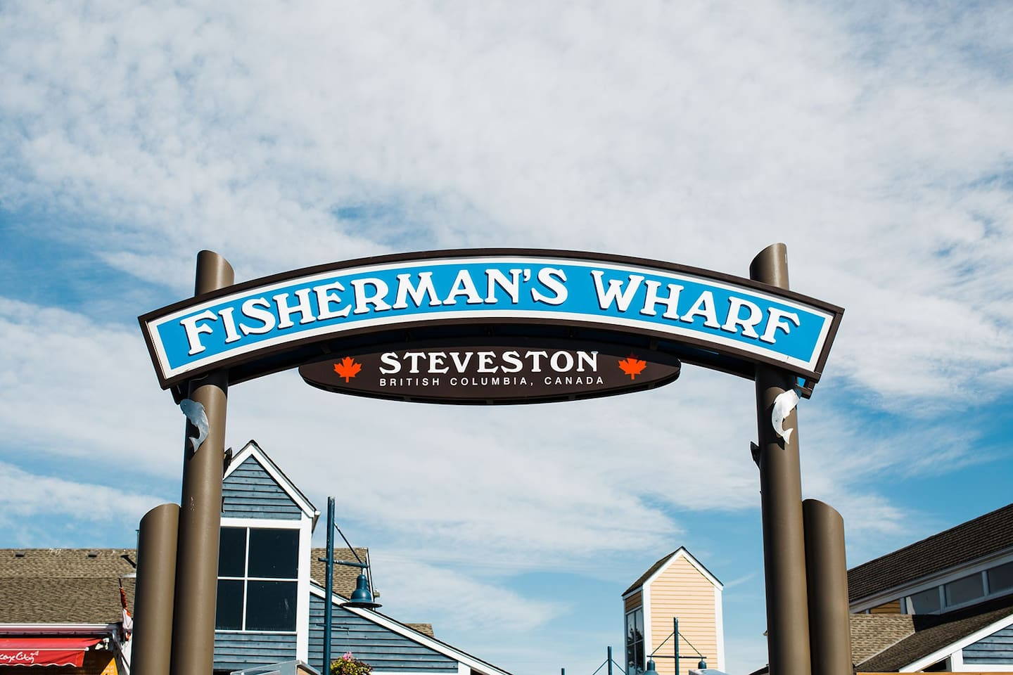Located 5 minutes from the Historical Steveston Fisherman's Wharf!  Dining, shopping and adventures!