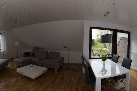 Große, sonnige und ruhige Wohnung - Dobersdorf