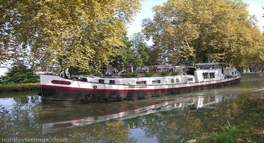 Cruise canals and rivers in Europe with 'easyvie'.