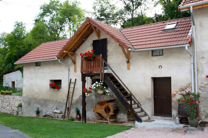 Cosy farm loft, great place to be. ADULTS ONLY - Le Breuil - Loft
