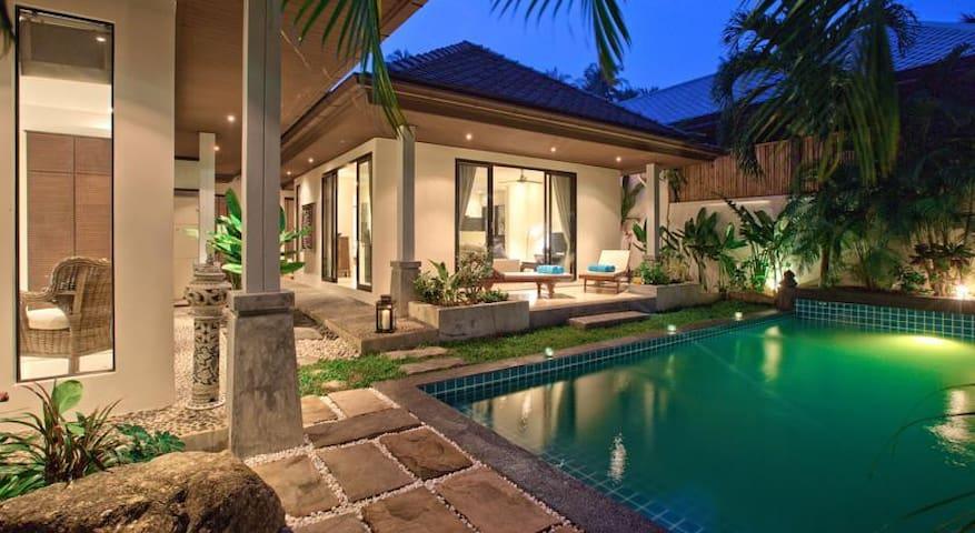 Bophut Stunning Pool Villa - Koh Samui - Hus