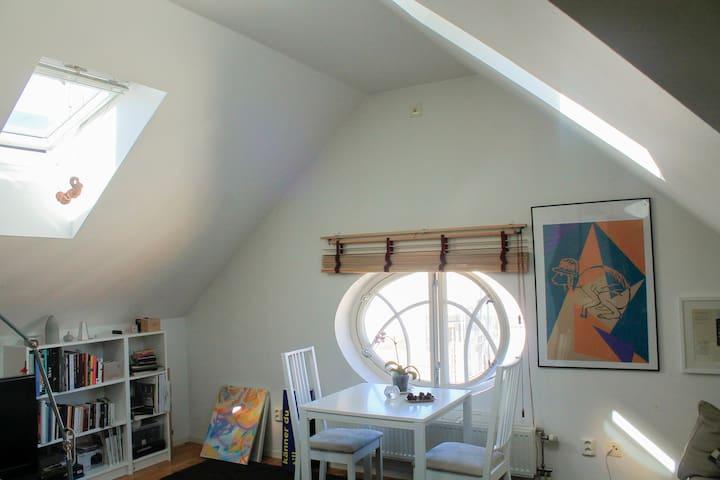 Cozy roof top apartment in Vasastan - Stockholm - Apartment