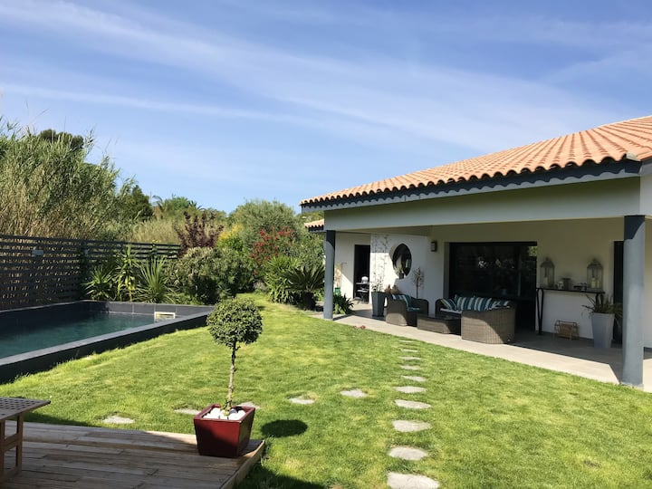 Villa with 3 bedrooms in Perpignan, with private pool, enclosed garden and WiFi - 8 km from the beach