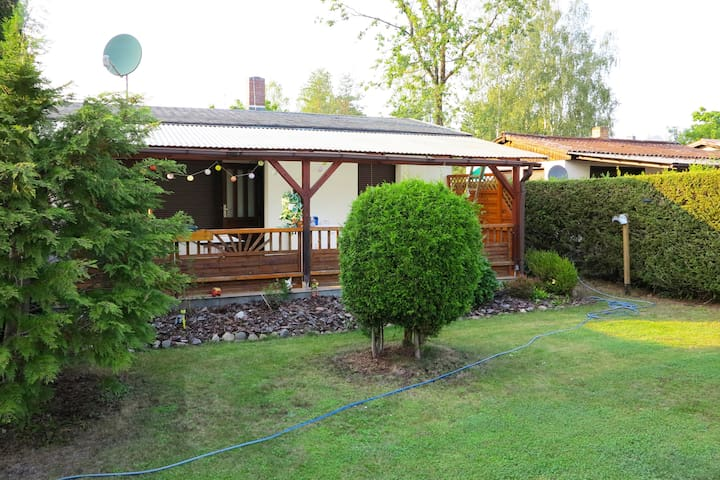 Holiday home in Unterspreewald, quiet, with garden