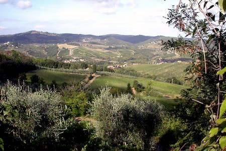 Leonardo with an astonishing view - Greve in Chianti