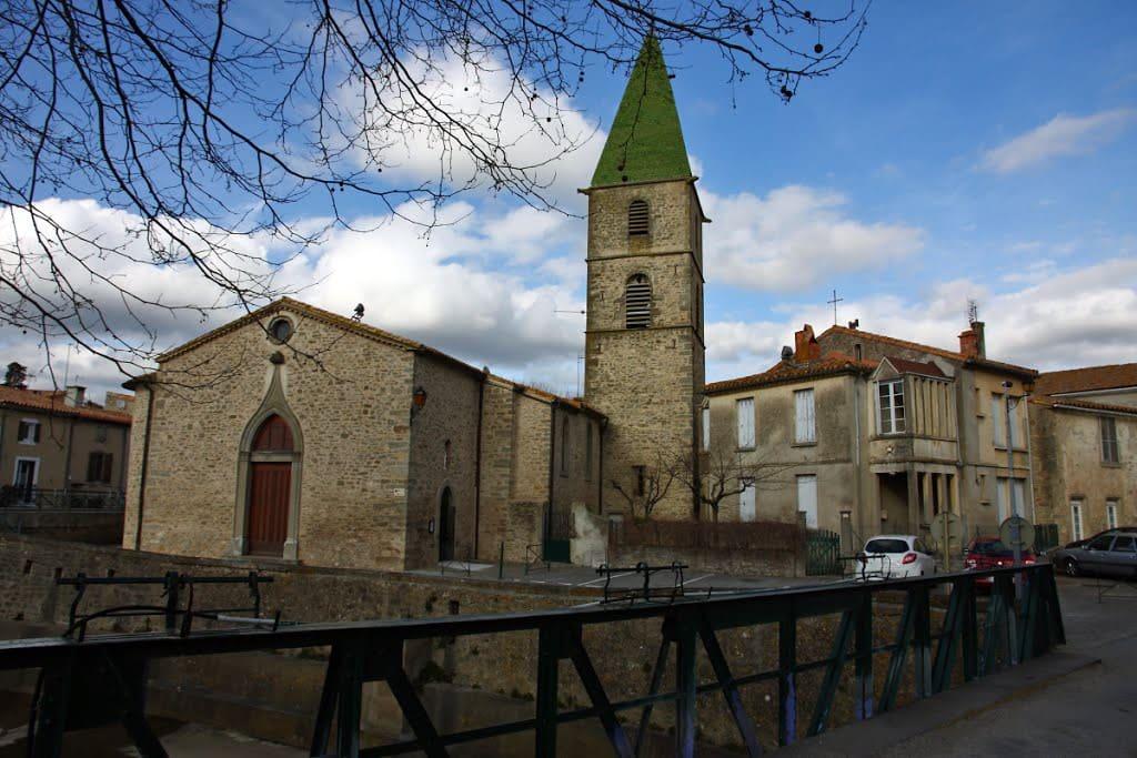 L'église de Villegly.