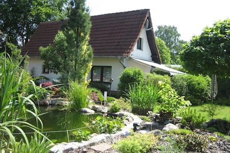 4 Pers. Ferienhaus Teich & Garten - Plau am See