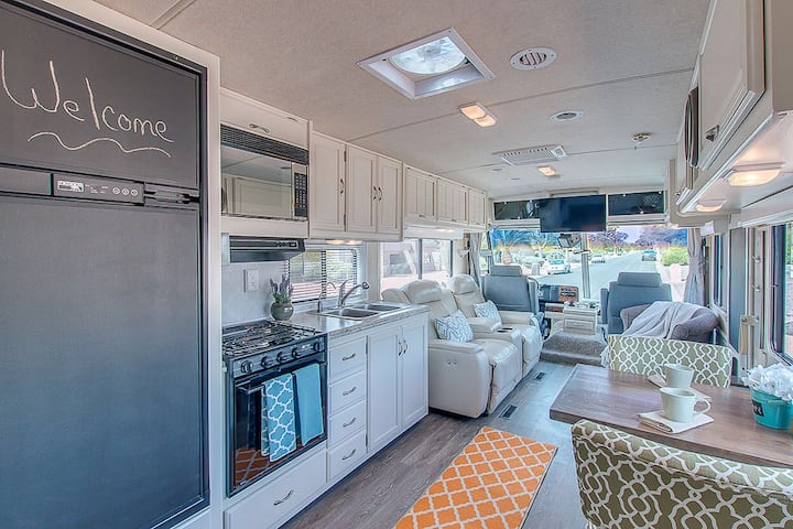 Professionally Renovated Custom RV