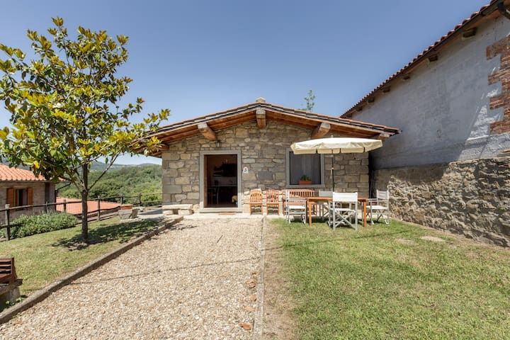 HOUSE IN TUSCANY, WITH POOL - Pratovecchio - Casa