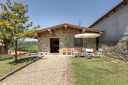 HOUSE IN TUSCANY, WITH POOL - Pratovecchio