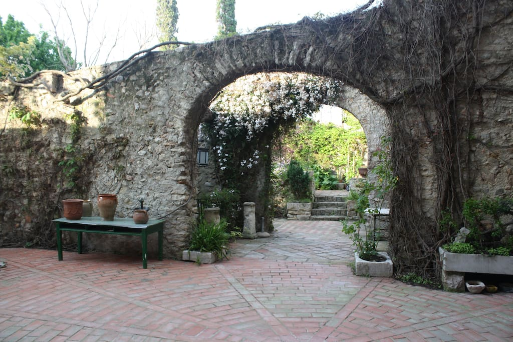 Arches once part of house
