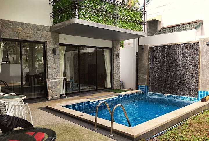Supernice 3 bedroom private pool villa near beach