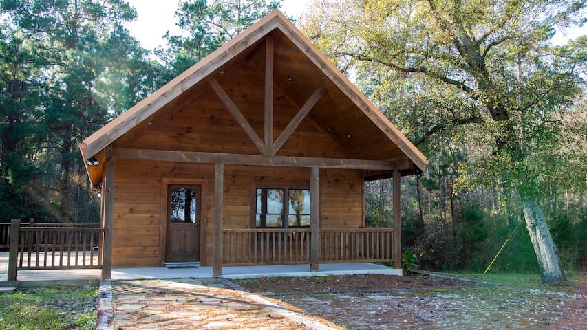 West Sandy Creek Winery Bungalow Log Cabin