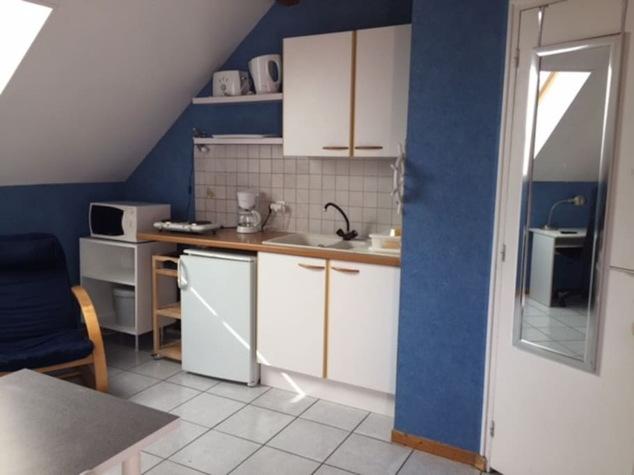 Appartement 28 m2 meubl avec espace vert privatif - Location appartement meuble besancon ...