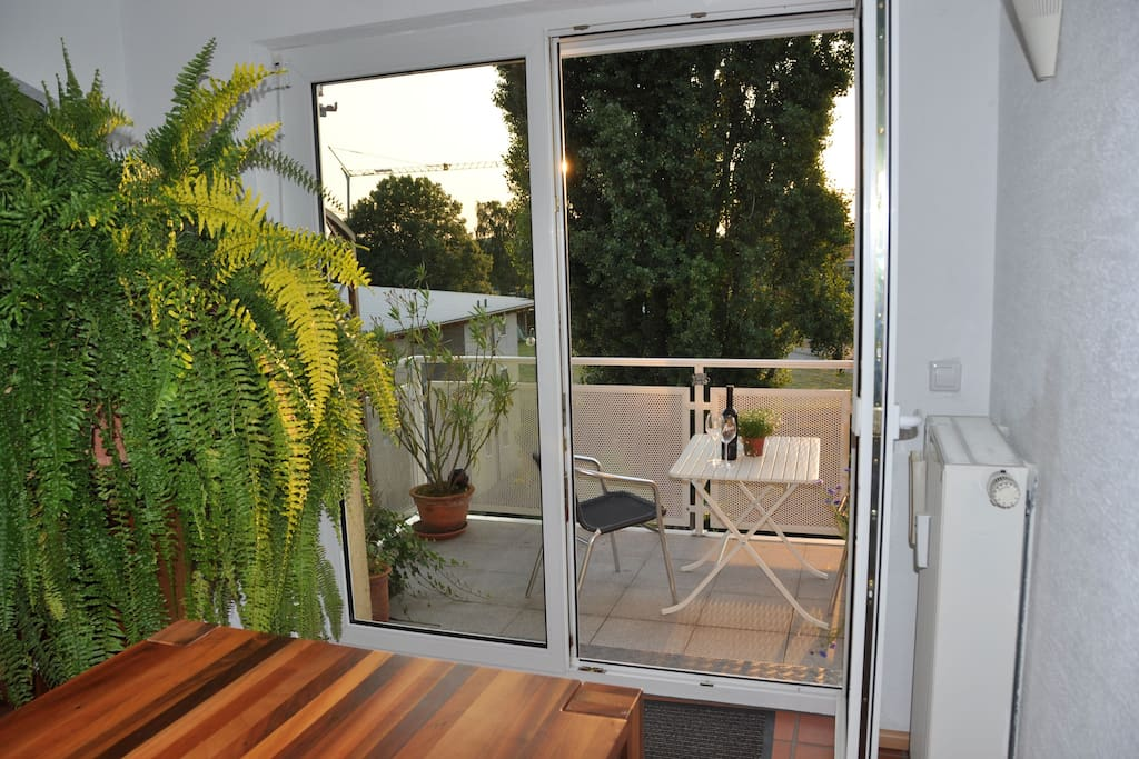 Essbereich/Balkon
