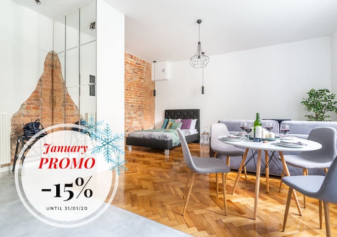 Climatic Loft Style ☆ At the Nowy Świat Street ♡