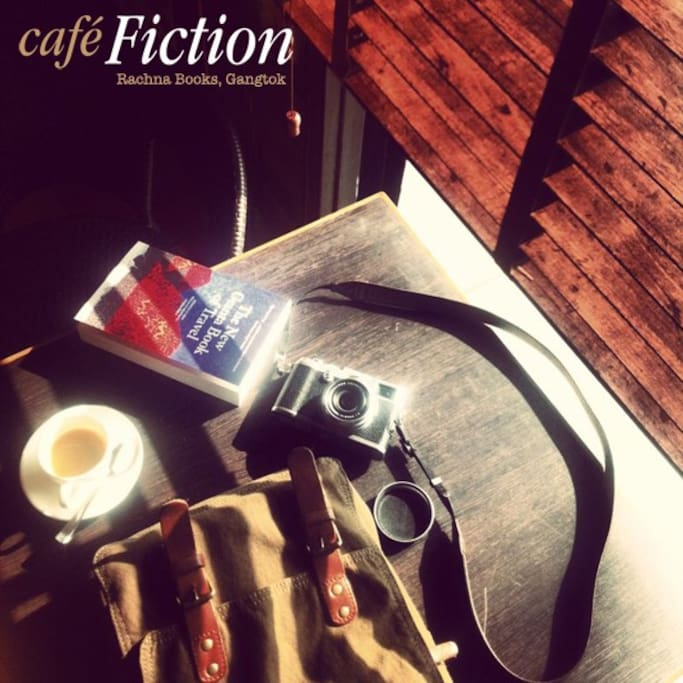 Tall tales and travel stories...share them over our brews at Café Fiction
