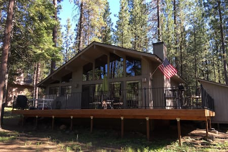 BBR golf home just below BM 14 tee - Black Butte Ranch - Haus
